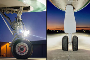 Nose Gear Taxi Light for Gulfstream GIV Aircraft