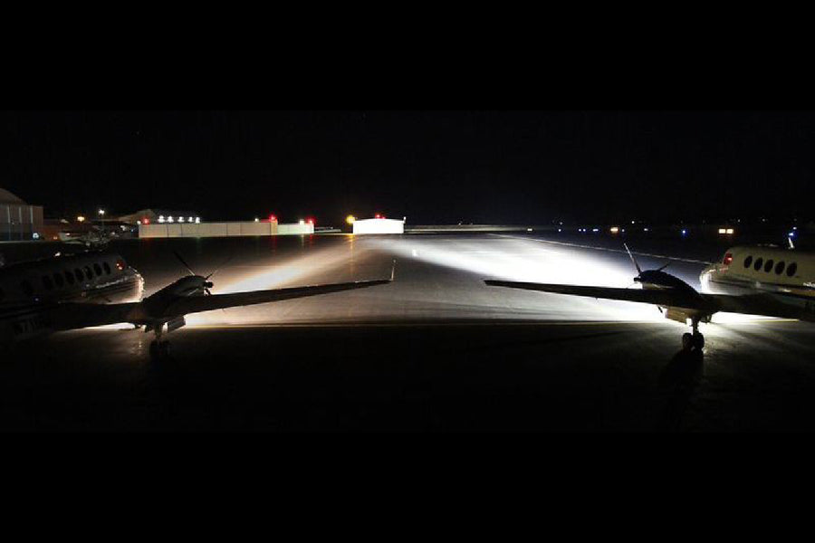 Landing and Taxi Lights for Beechcraft King Air