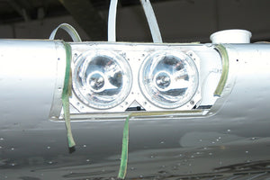 Wing Mounted HID Landing Lights for Cessna