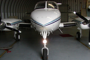 Nose Gear Mounted BoomBeam Light (SINGLE) for Cessna Aircraft