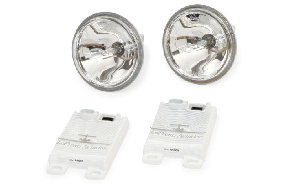 HID Landing Lights (PAIR OF TWO) for Cessna 172M, 172N, 172L