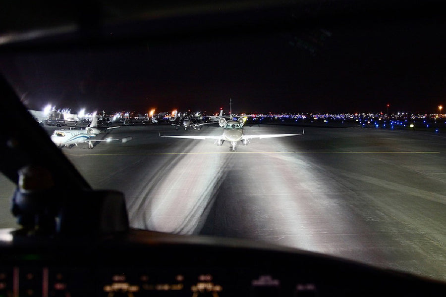 Wing Landing & Taxi Lights for Global Aircraft