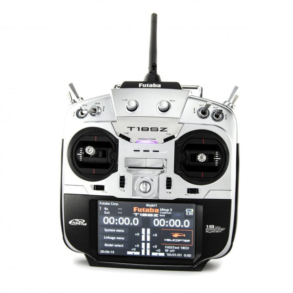 18SZ Transmitter  HELI – 18-Channel Digital Proportional RC System w/R7008SB