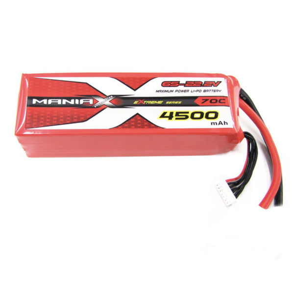 ManiaX LiPo 6S 4500mAh 22.2V 70C Battery AS150