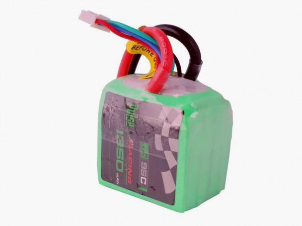 PULSE 1350mAh 4S 14.8V 95C Cube Lipo Battery with XT60 Plug