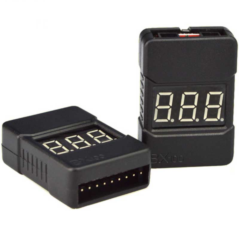 Lipo Battery Tester 1-8S with Alarm