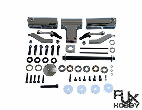 RJX Flybarless Head Assembly for Synergy N9