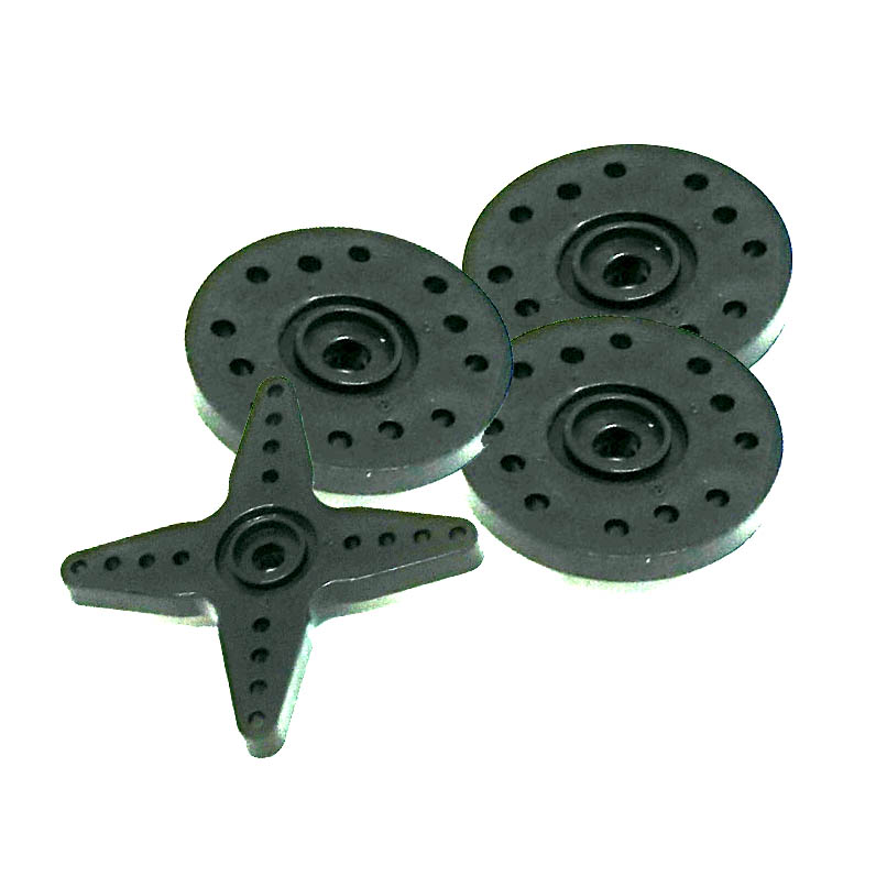 25T Servo Horn Set - Wheel Set (Futaba Spline)