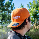 Flex-Fit Futaba USA Baseball Hat Orange Sm/M