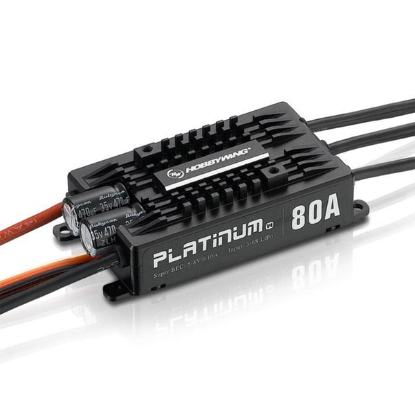 HobbyWing Platinum Pro V4 80A Speed Control w/BEC