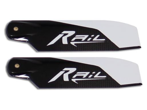Rail Blades 80.6mm Tail Blades R-80.6