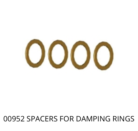 00952 Spacers for damping rings