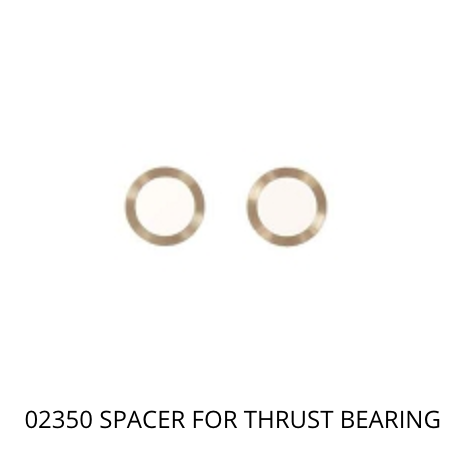 02350 Mikado Spacer for thrust bearing