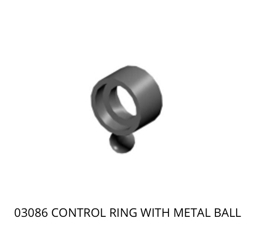 03086 Mikado Control ring with metal ball