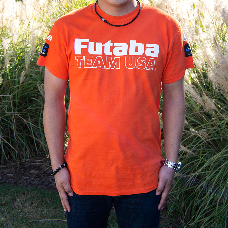 Futaba USA Unisex T-Shirt (Orange) Large
