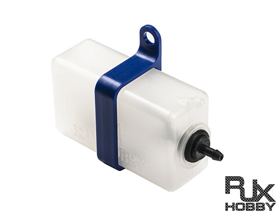 RJX Header Tank Size 60 C.C Assembly with Plastic Holder BLUE
