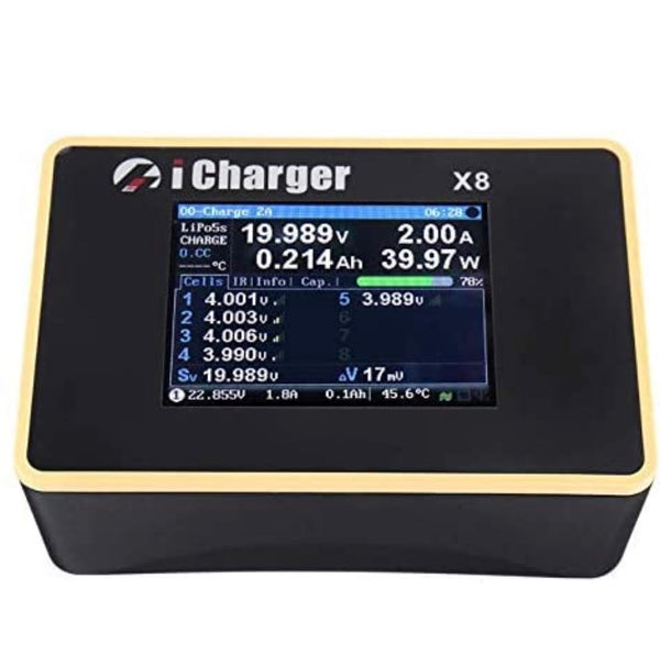 ICharger X8 1100W 30A 8S Balance Charger