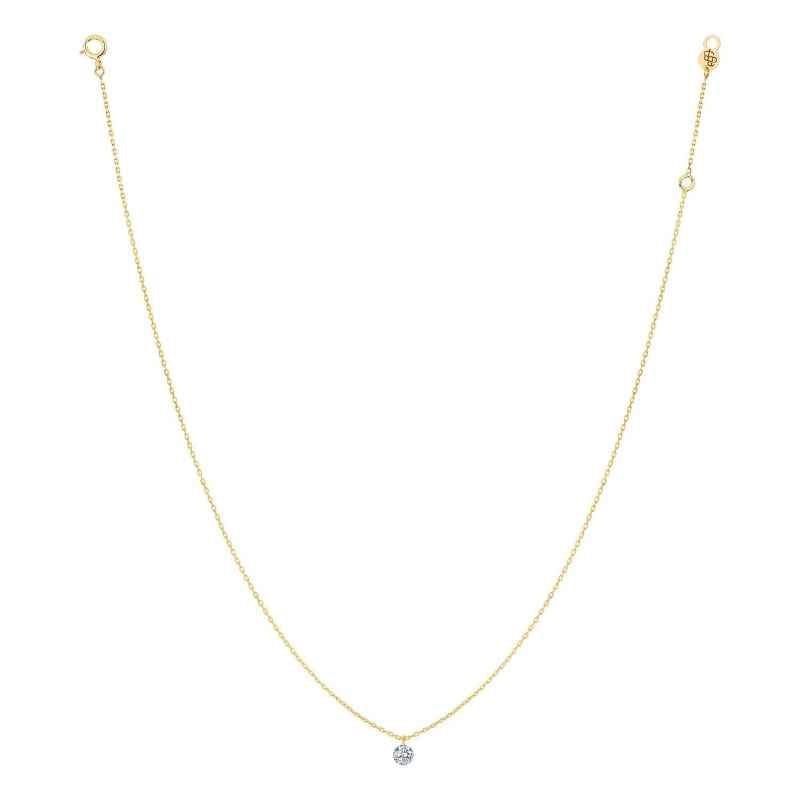 Collier 360° Or Jaune 18KT (0.20ct)