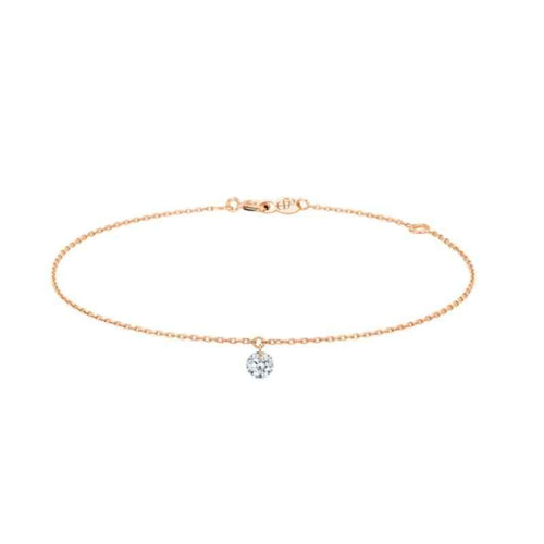 Bracelet La Brune et la Blonde 360° or rose