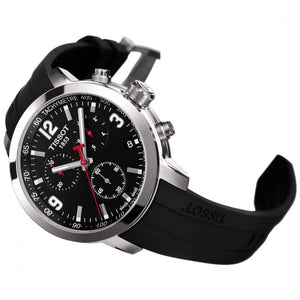 "Montre Chronographe Tissot ""T-Sport"" PRC200 boucle simple"