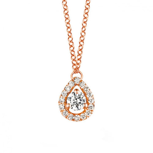 Collier One More en or rose 18 carats Diamants blancs