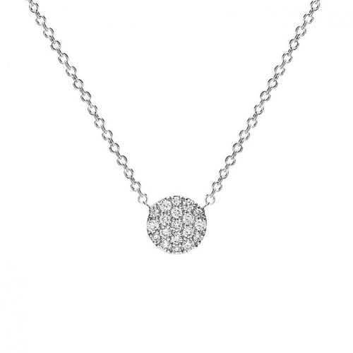 Collier One More en or blanc 18 carats Diamants blancs