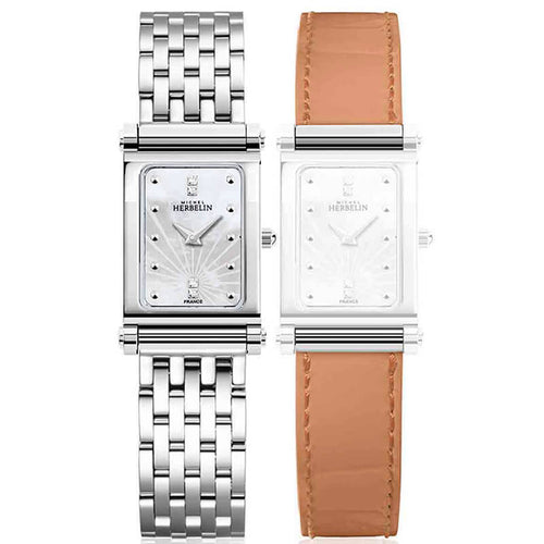 montre michel herbelin antares interchangeable
