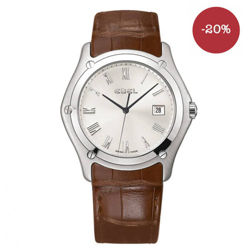 Montre Ebel Classic Homme date 3h