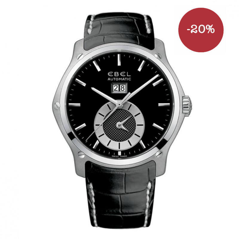 Montre Ebel Hexagon Homme GMT Grande Date