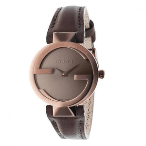"Montre Gucci ""Interlocking"" PVD Bronze"