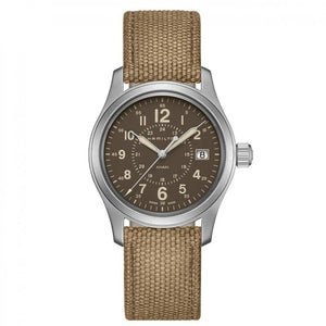 Montre Hamilton Khaki Field Canvas Quartz
