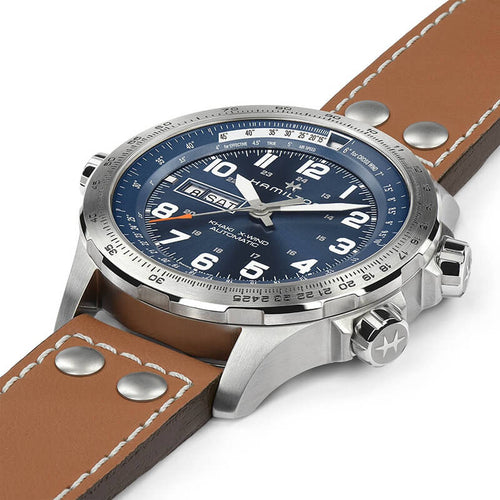 Khaki Aviation X-Wind Day-Date