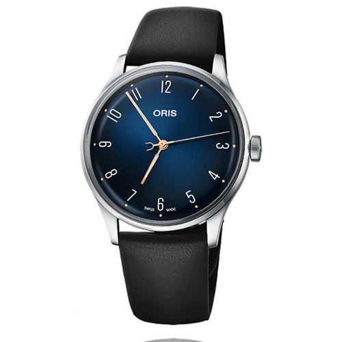 montre oris james morrison  academy of music cadran bleu