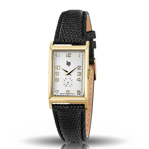 "Montre Lip Collection ""Churchill"" T18 PVD or jaune"