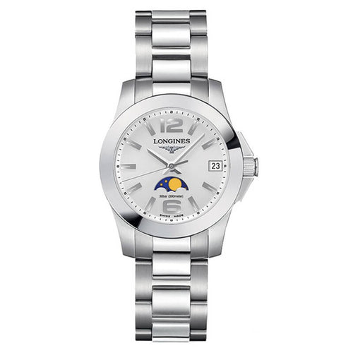 Montre Longines Conquest Femme Phase de lune Quartz L33804766