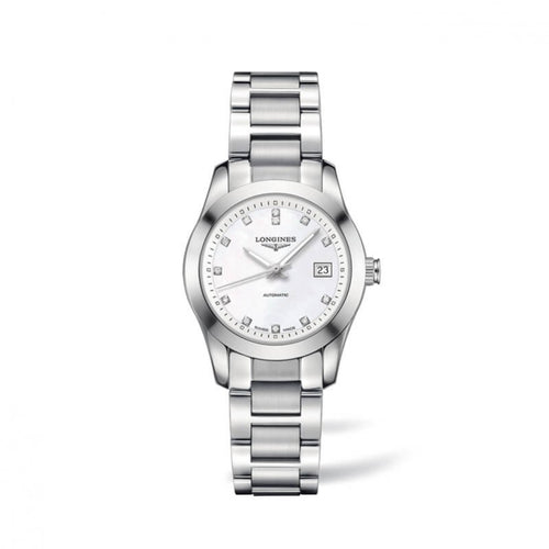Montre Longines Conquest Classic Nacre et Diamants L22854876