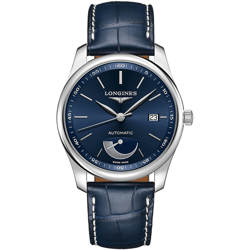 montre longines master collection bleue