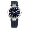 montre  michel herbelin newport bleue