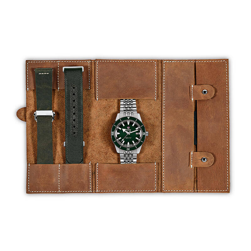 Etui montre captain cook