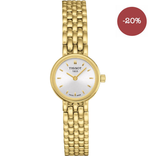 montre tissot lovely pvd or jaune