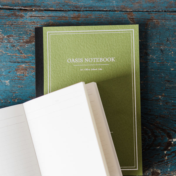 Oasis Japanese Notebook - Avocado