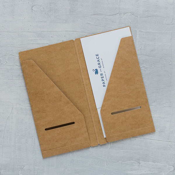 Traveler's Company Kraft Paper Folder (020)