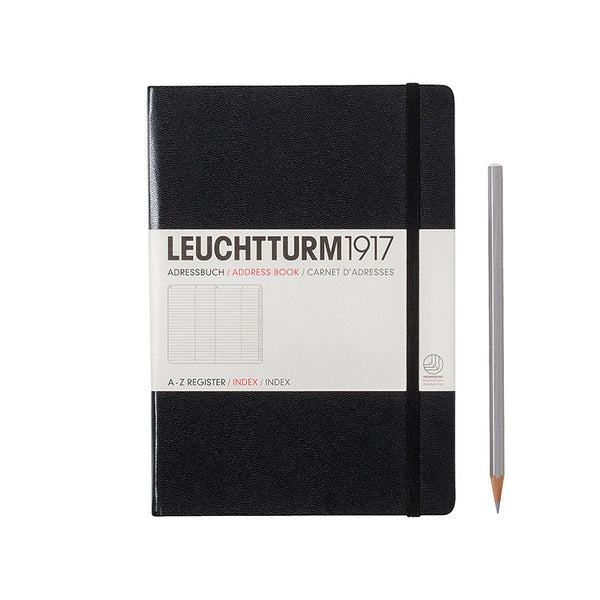 Leuchtturm Address Book - Medium (A5) Hardcover