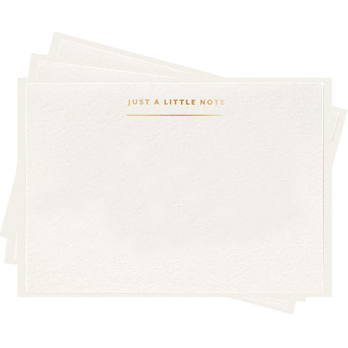 Just A Little Note - Boxed Set