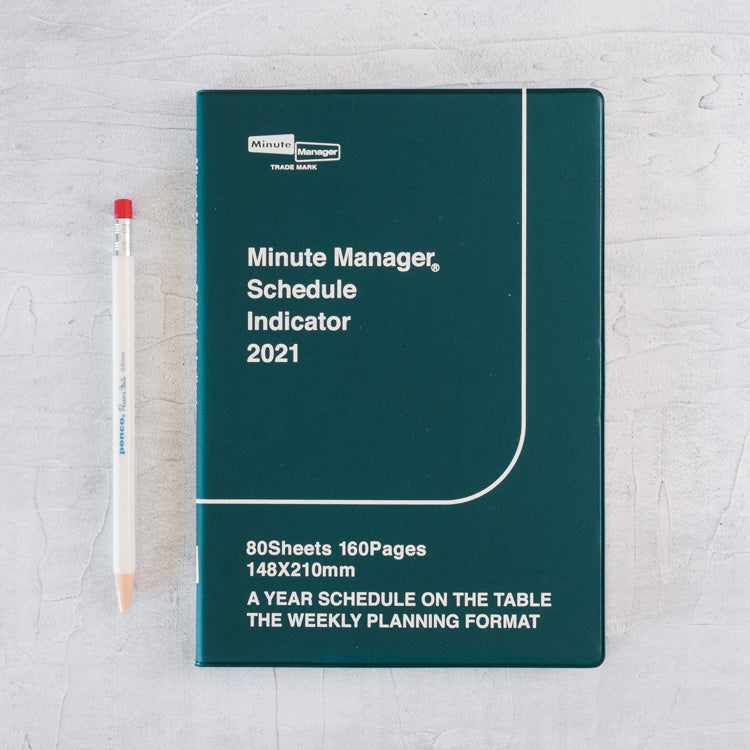 Hightide 2021 Minute Manager - A5 Left