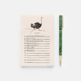 Rifle Paper Co. Ostrich To Do Notepad
