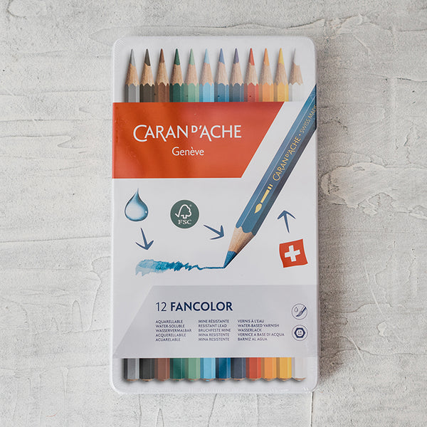 Caran d'Ache FANCOLOR Pencil Set