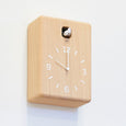 Lemnos Cucu Clock in Natural