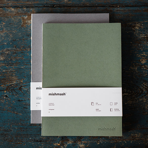 Mishmash Gilded Notebook