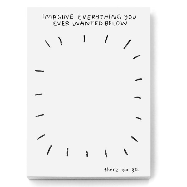 Imagine Everything Notepad